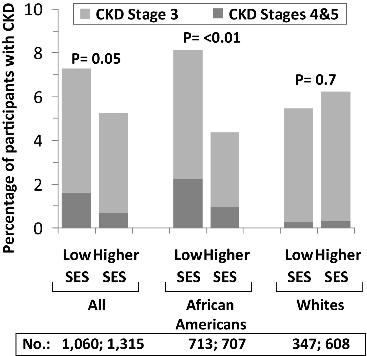 Poverty, Race, and CKD in a Racially and Socioeconomically ...